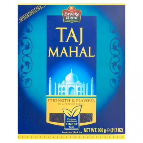 Brooke Broond Taj Mahal Chá preto (Black Tea) 900GM