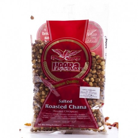 Heera Grão Torrado C/Sal (Roasted Salted Chana)