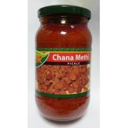 Mausam Channa Methi (Achar de Grão e Feijão)