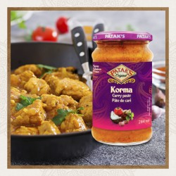 Pasta de Caril Korma Patak's (Patak's Korma Curry Paste)