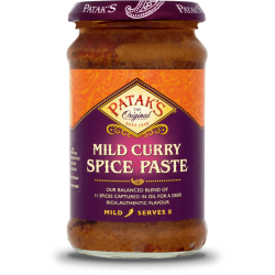 Pasta de Caril (Suave) Patak's (Patak's Curry Paste Mild)