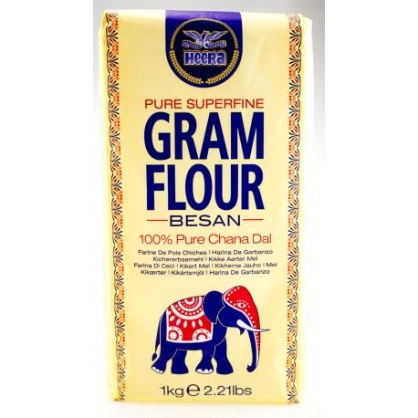 Farinha de Grão  Heera  (Heera Gram Flour / Besan)