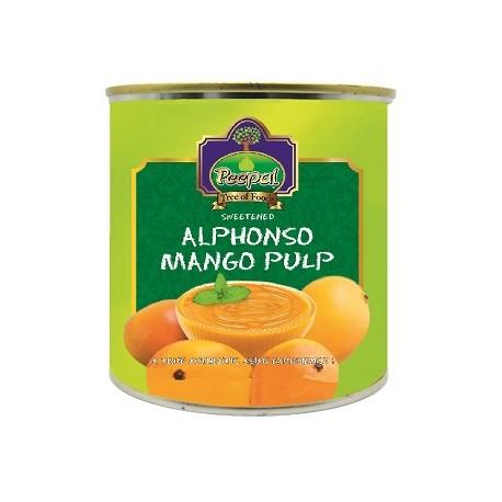 Polpa de Manga Alphonso  (Alphonso Mango Pulp)  850g