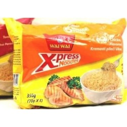 X-Press Instant Noodles Creamy Chicken WAI WAI