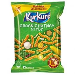 Kurkure Aperitivo Frito (Green Chutney Style)