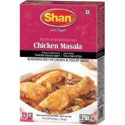 Especiarias para Chicken Masala Shan