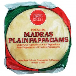 Paparis Madras Simples Heera (Madras Plain Papadam)