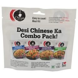 Pacote Especiarias Variadas Ching's Secret (Desi Chinese Ka Combo Pack)