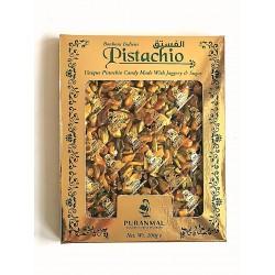 Doce Indiano de Pistachio Puranmal (Bonbons Indiens Pistachio)