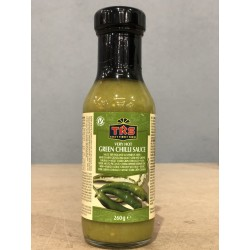 Molho Malagueta Verde  Ex. Hot TRS (Green Chili Sauce- Extra Hot)