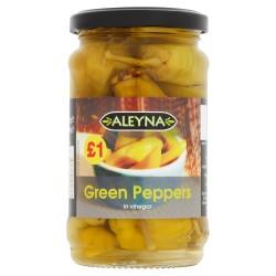 Pimenta Verde em Vinagre  Aleyna (Green Peppers) 275g