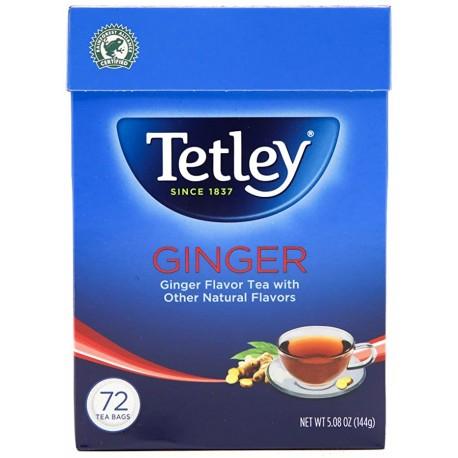 Chá  Gengibre 72 Saq Tetley (Tetly Ginger Tea ) 144g