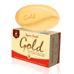 Sabonete Corporal Sandalo Mysore GOLD  (Mysore Sandal Soap)