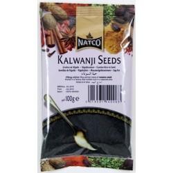 Sementes de Nigella NATCO  ( Kaloonji Seeds ) 100g