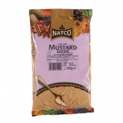 Mostarda Amarela em Grão NATCO (Yellow Mustard Seeds) 100g