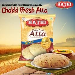 Farinha de Trigo HATHI  (Shudh Chakki Atta) 5 Kg