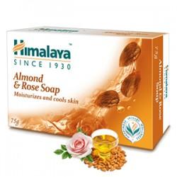 Sabonete Corporal Himalaya Amêndoa e Rosa (Almond & Rose Soap)