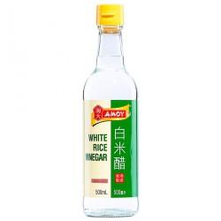 Amoy White Rice Vinegar (Vinagre de Arroz) 500ml