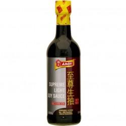 Amoy Supreme Light Soy Sauce (Molho de Soja) 500ml