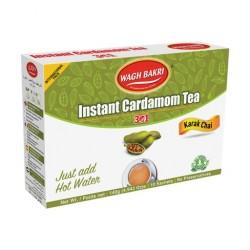 Wagh Bakri Instant Cardamom Tea (Chá Instantaneo Cardamomo) 140g
