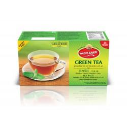 Wagh Bakri Green Tea Tulsi (Chá Verde de Basil)