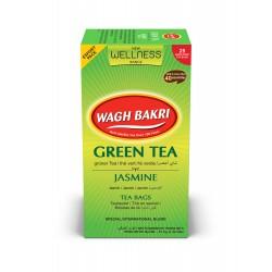 Wagh Bakri Green Tea Jasmine (Chá Verde Jasmin)