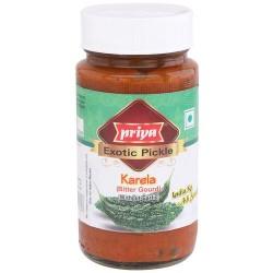 Priya Pickle de Melãozinho (Karela Bitter Gourd Exotic Pickle)